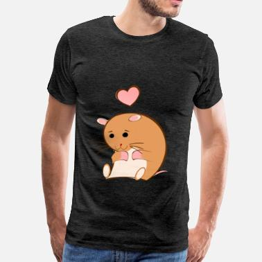 HAPPY HAMSTER - Men's Premium T-Shirt