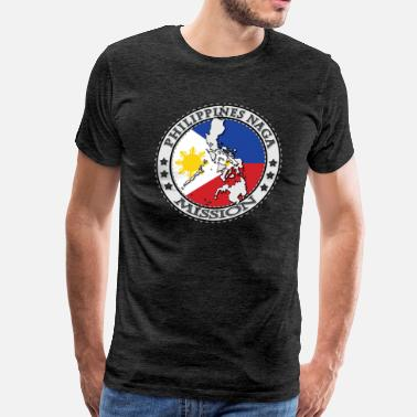 Naga Philippines Naga Mission  - Men's Premium T-Shirt