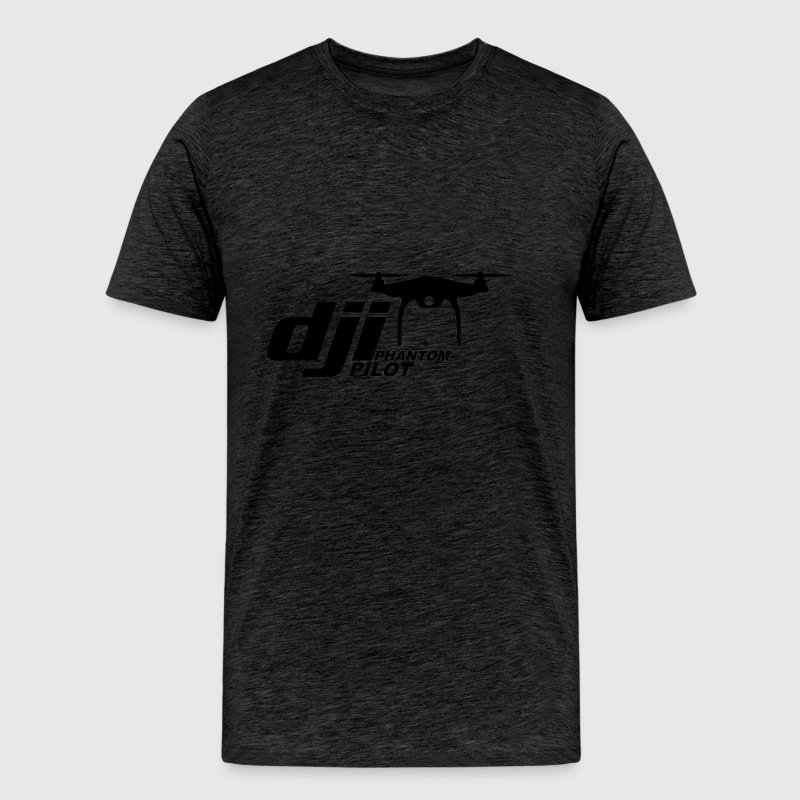 DJI PHANTOM PILOT logo - Men's Premium T-Shirt