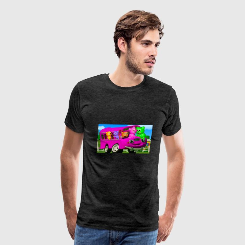 Mega Gummy Bear FInger Family - Men's Premium T-Shirt