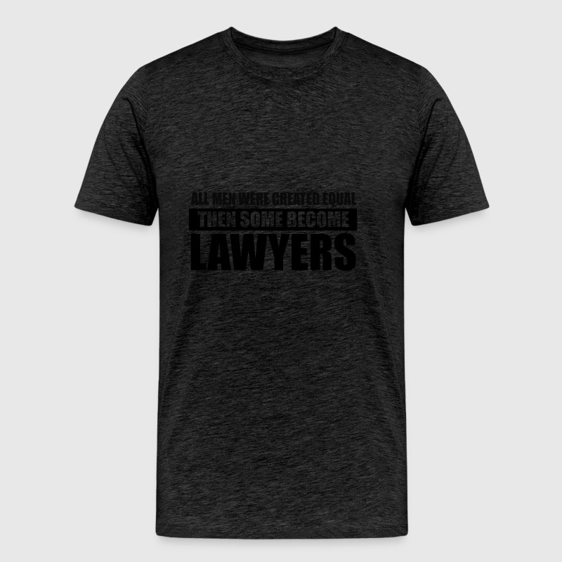 men lawyers design - Men's Premium T-Shirt