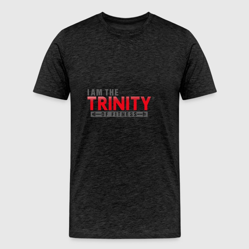 I AM THE TRINITY OF FITNESS - Men's Premium T-Shirt