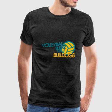 VOLLEYBALL BURKE H - Men's Premium T-Shirt
