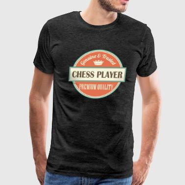 Chess Player Board Game Gift - Men's Premium T-Shirt