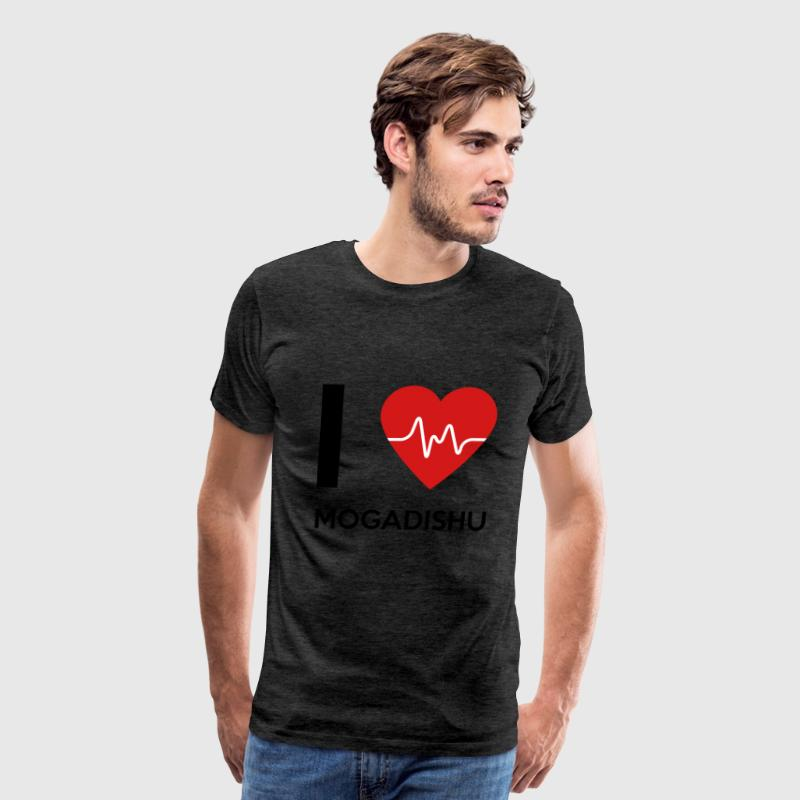 I Love Mogadishu - Men's Premium T-Shirt