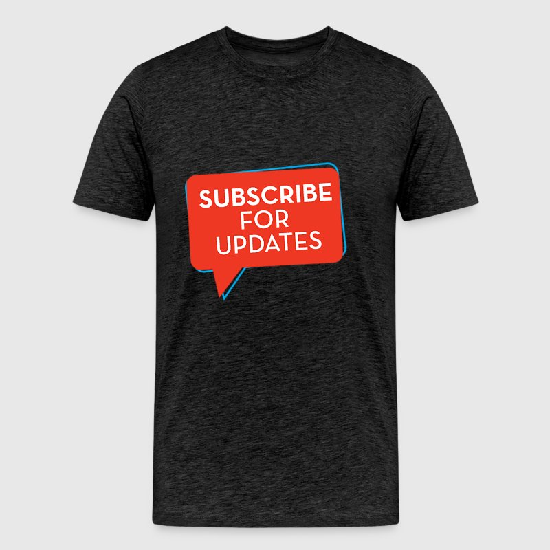 Subscribe-PNG - Men's Premium T-Shirt