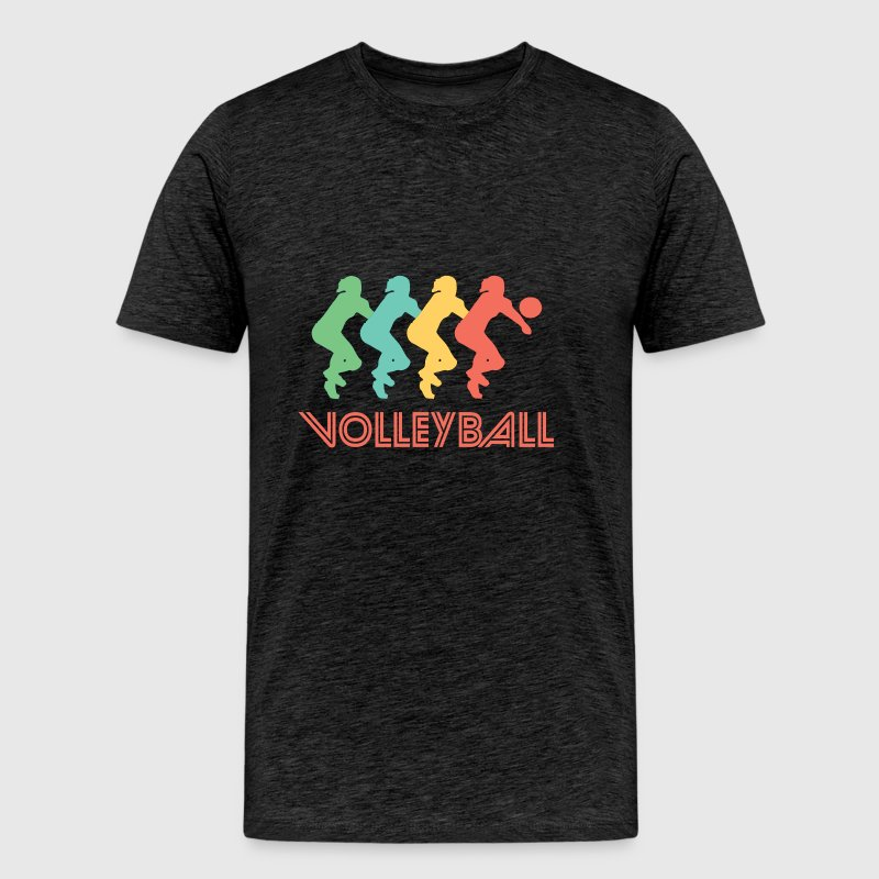 Volleyball Pop Art - Men's Premium T-Shirt