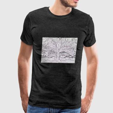 The Duplicity Tree - Men's Premium T-Shirt