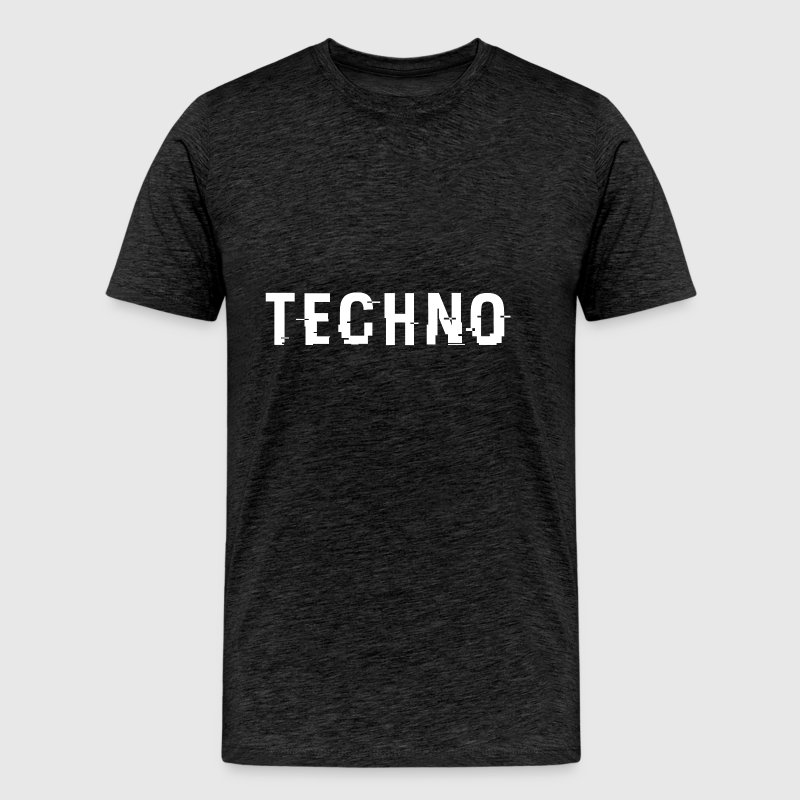 Techo Hacked White - Men's Premium T-Shirt