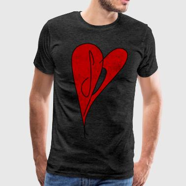 Smashing Pumpkins SP Heart - Smashing Pumpkins - Retro Vintage Style - Men's Premium T-Shirt