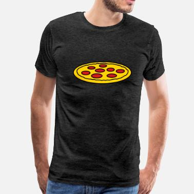 Side Piece side cool logo italy love favorite pieces pizza ro - Men's Premium T-Shirt