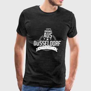 Düsseldorf my city Germany - Men's Premium T-Shirt