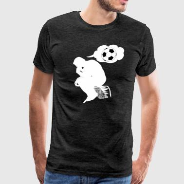 Thinking Soccer - Men's Premium T-Shirt