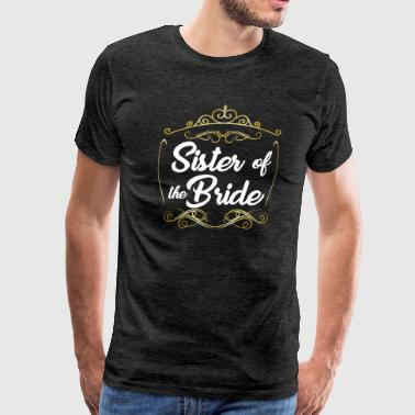 Wedding Cake Sister Of The Bride - Men's Premium T-Shirt