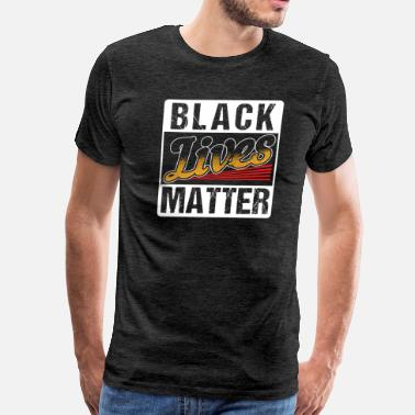Human Rights Campaign Black Lives Matter Gift Life Cool People of Color - Men's Premium T-Shirt