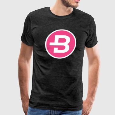 HD Bytecoin Official Logo Bytecoin 2017 - Men's Premium T-Shirt