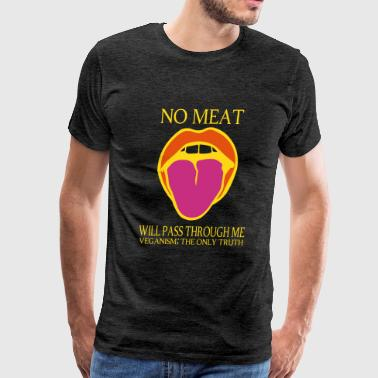 Dead Meat Tongue truth - Men's Premium T-Shirt