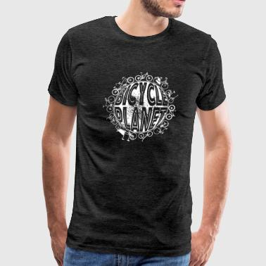 Cycling Bicycle Planet - Men's Premium T-Shirt