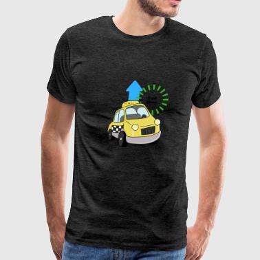 Taxi Mom - Men's Premium T-Shirt