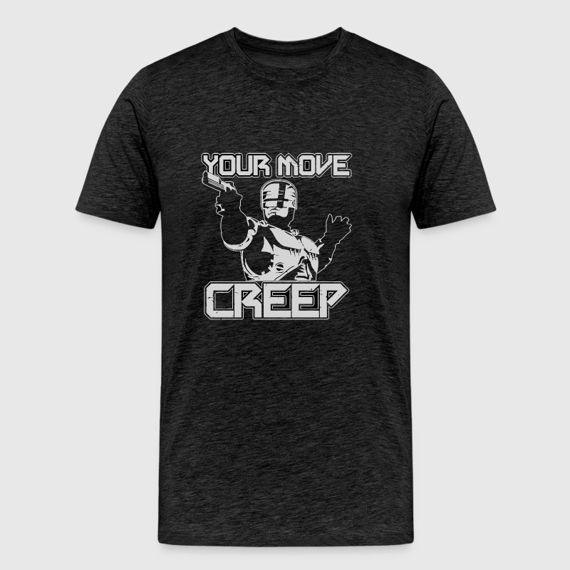 Your Move Creep vectorized - Men's Premium T-Shirt