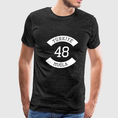 turkiye 48 - Men's Premium T-Shirt