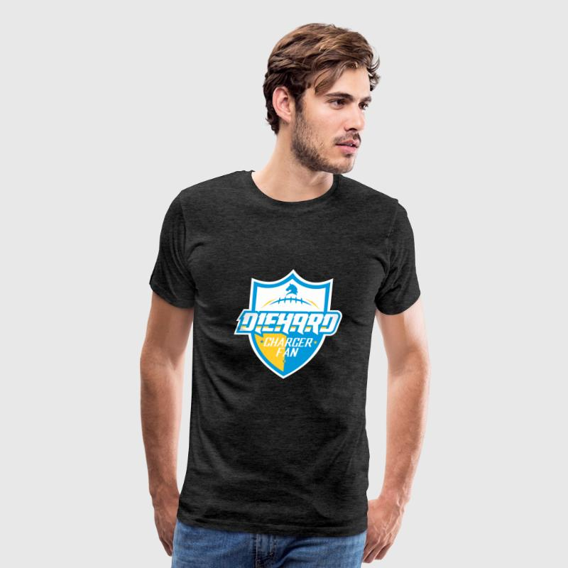 DIEHARD CHARGER FAN - Men's Premium T-Shirt