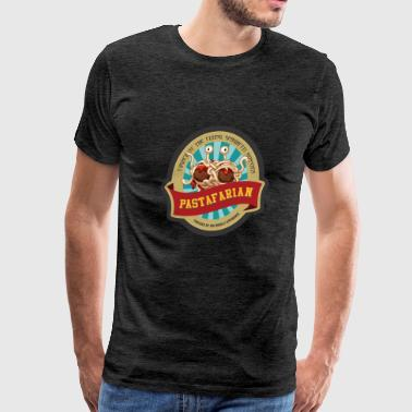 church of flying spaghetti monster - Men's Premium T-Shirt