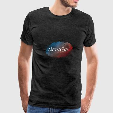 Norge - Norway - Men's Premium T-Shirt