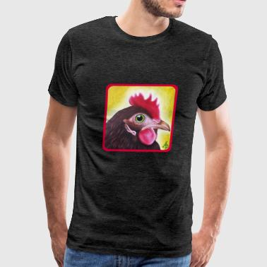 Hen - Men's Premium T-Shirt