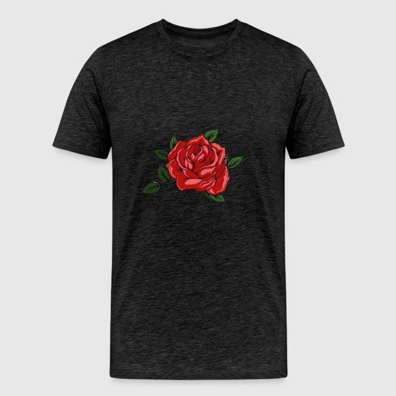 Halloween Rose - Men's Premium T-Shirt