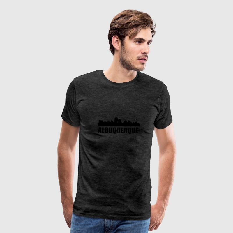 Albuquerque NM Skyline - Men's Premium T-Shirt