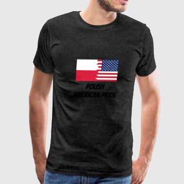 Polish American Pride - Men's Premium T-Shirt