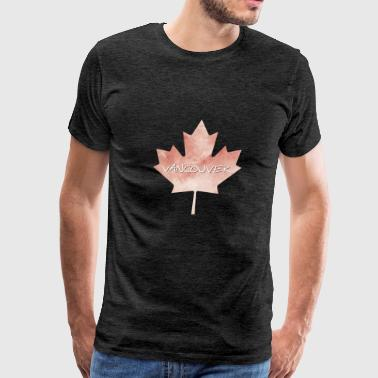 Maple Leaf Vancouver - Men's Premium T-Shirt