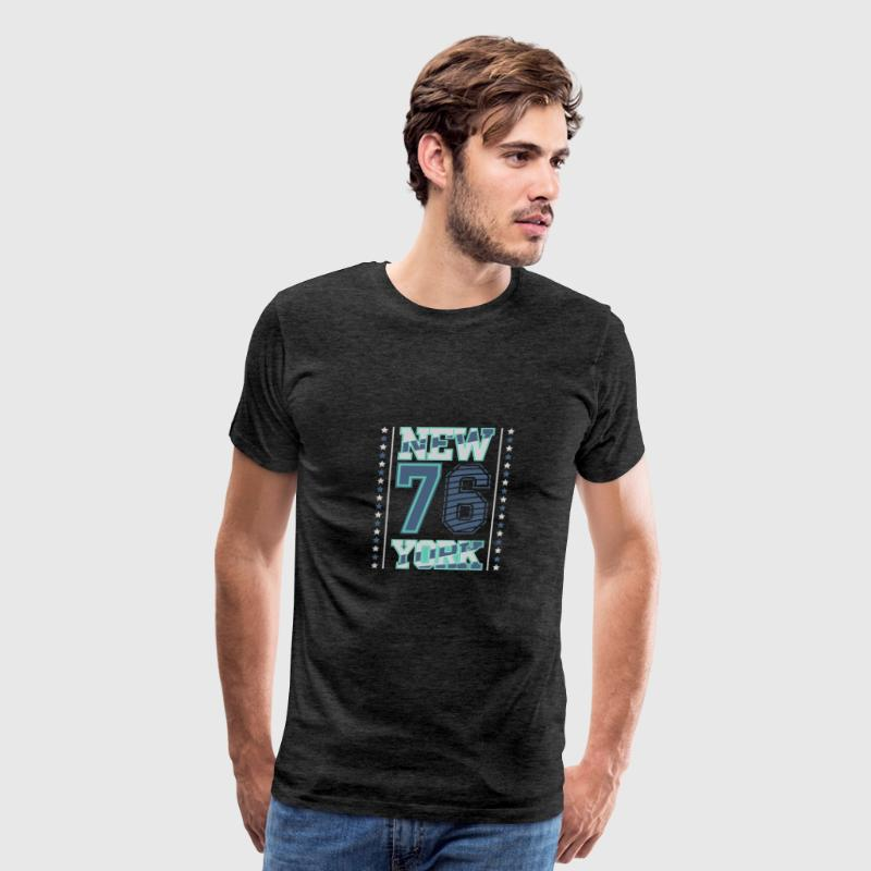 NY 76 - Men's Premium T-Shirt