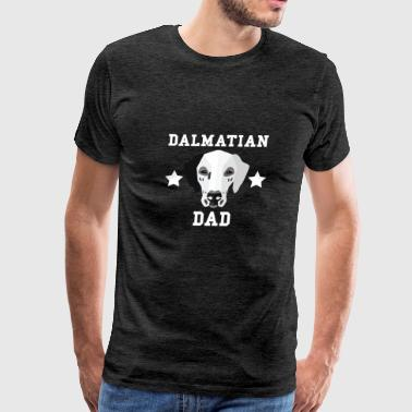 Dalmatian Dad Dog Owner - Men's Premium T-Shirt