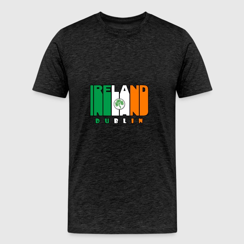 Ireland dublin - st patricks day - Men's Premium T-Shirt