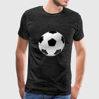 football realistic ball sport - Men's Premium T-Shirt