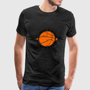 7 Days A Week Basketball - Men's Premium T-Shirt
