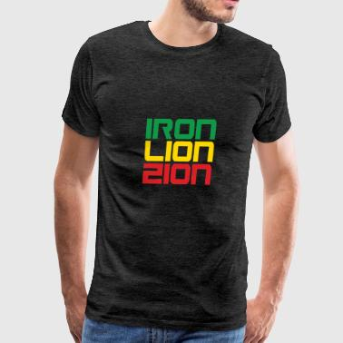 Iron Lion Zion - Men's Premium T-Shirt