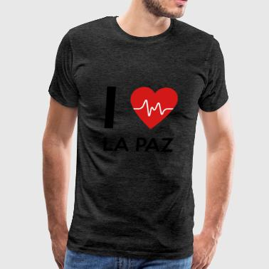 I Love La Paz - Men's Premium T-Shirt