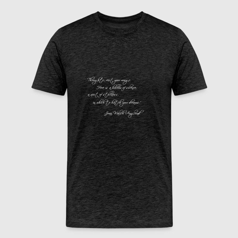 Thoughts Rest Your Wings... - Men's Premium T-Shirt