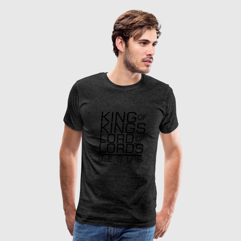 King of Kings Jesus - Men's Premium T-Shirt