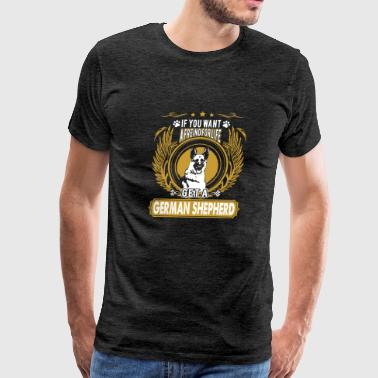 German Shepherd Friend Shirt - Men's Premium T-Shirt