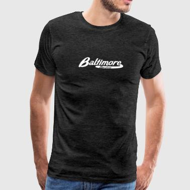Baltimore Maryland Vintage Logo - Men's Premium T-Shirt