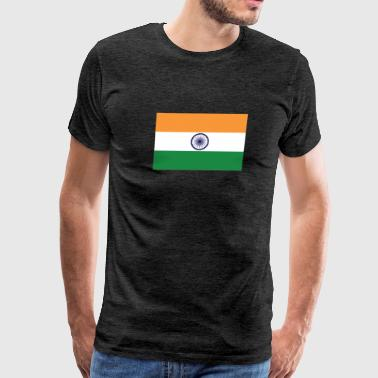Flag of India Cool Indian Flag - Men's Premium T-Shirt