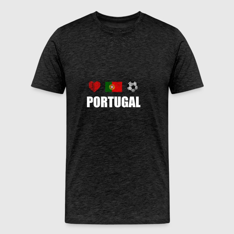 Portugal Football Portuguese Soccer T-shirt - Men's Premium T-Shirt