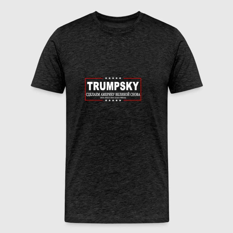 Trumpsky: Make-America-Great-Again-Comrade - Men's Premium T-Shirt