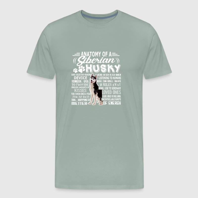 ANATOMY OF A SIBERIAN HUSKY SHIRTS by | Spreadshirt