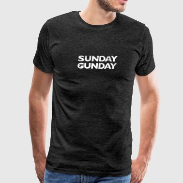 Sunday Gunday - Men's Premium T-Shirt