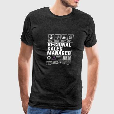 Best Gift for Regional Sales Manager T-shirt Funny - Men's Premium T-Shirt
